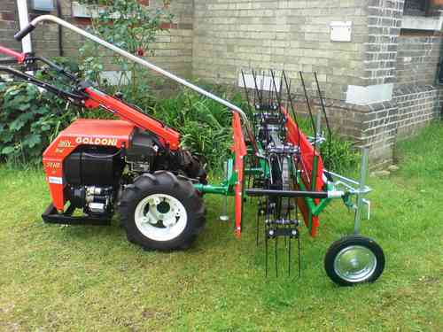 Mechanical Hay Rake Tedder