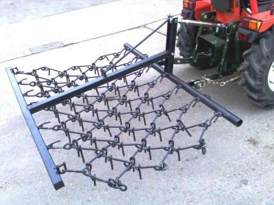 1.8m Mounted Triple Chain Harrow