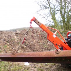Lifting Jib for rear mounting on most tractors