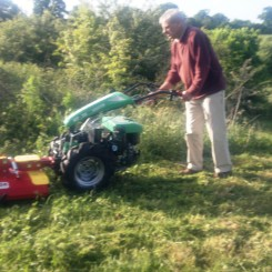Grass & Rough Cutting Implements for two wheel tractors