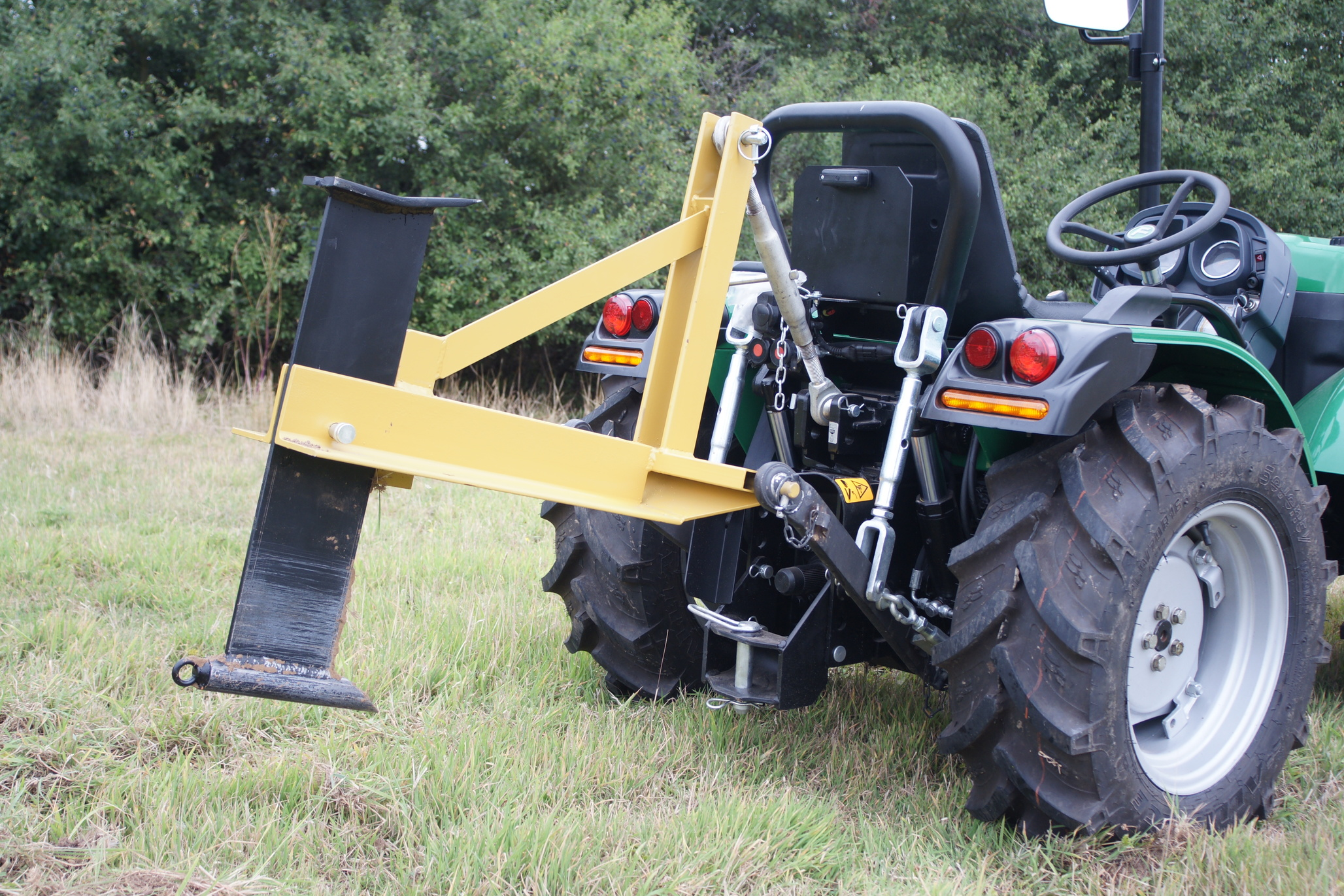 Tractor Water Pipe : Subsoiler mole plough