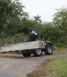 Moving large trough