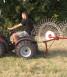 2 Wheel rake