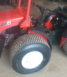 Used Goldoni Quad 20 tractor on grass tyres