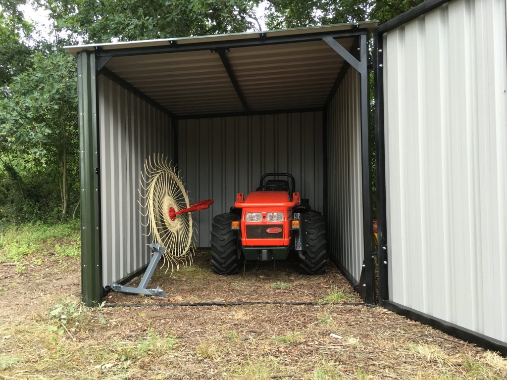 Tractor Shed Portable With Door Bsg Tractors